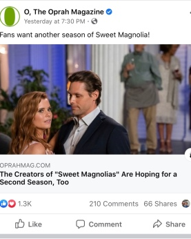 O mag Sweet Magnolias